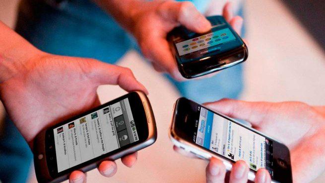 teléfonos móviles-clientes