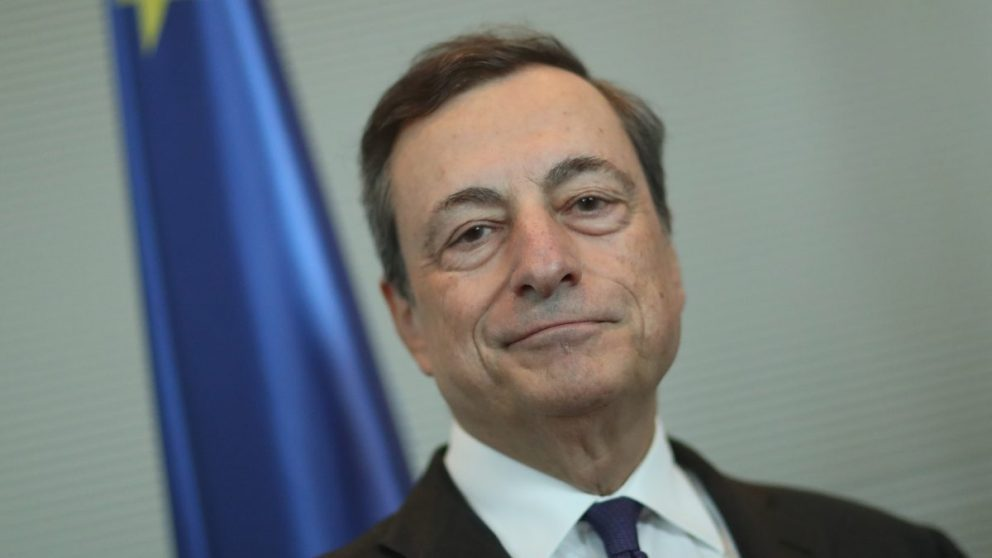 Mario Draghi, presidente del BCE (Foto: Getty)