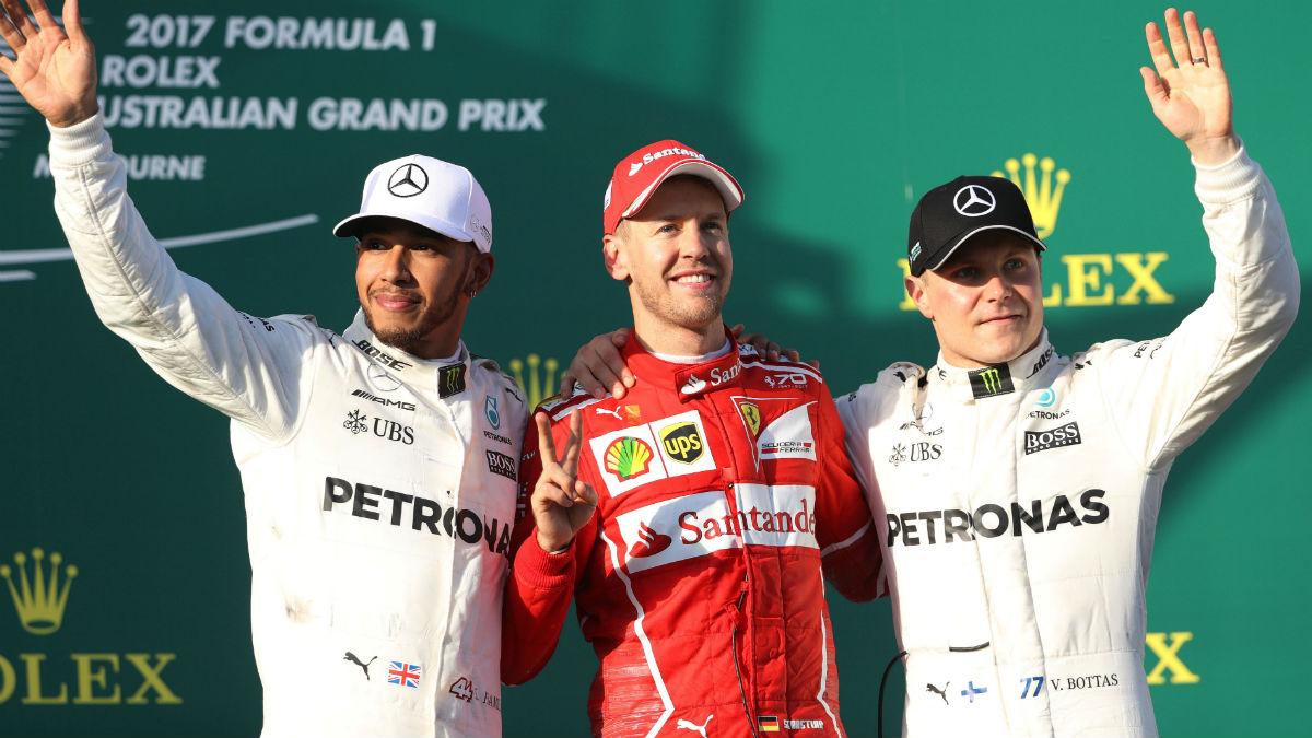 ¿Ocupará Sebastian Vettel alguno de los asientos de Mercedes en 2018?