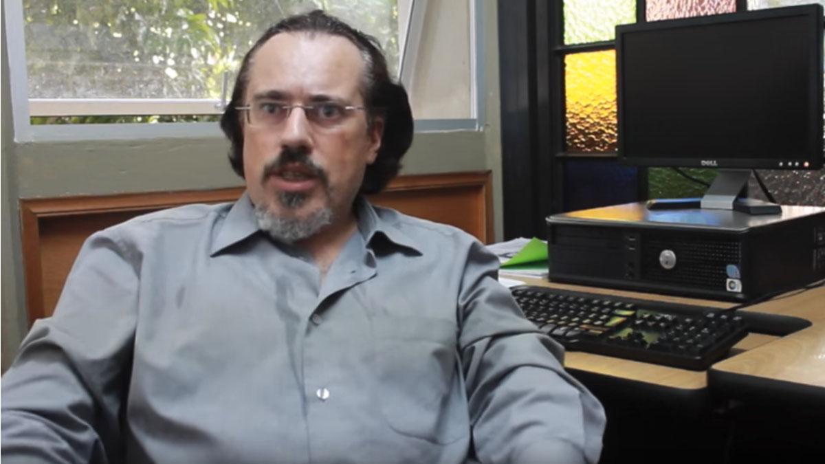 El vicedecano de Estudiantes de la Facultad de Políticas de la Universidad Complutense, Fernando Harto de Vera.