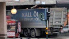 El camión del atentado de Estocolmo había sido robado pocos minutos antes.