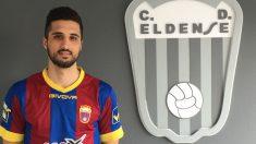 David Azin, jugador del Eldense.