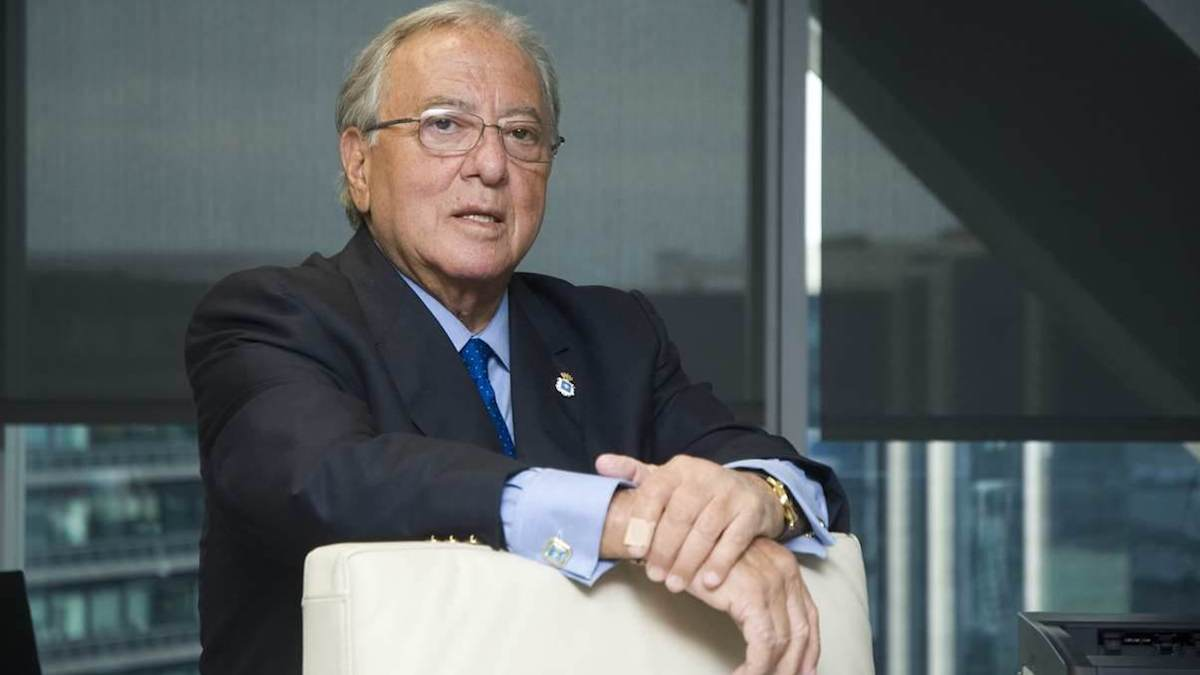El presidente de la Fundación A.M.A., Diego Murillo.