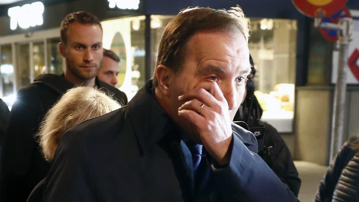 El primer ministro sueco, Stefan Lofven (Foto:AFP)