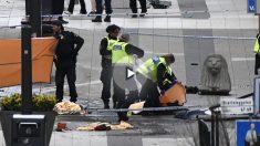 Atentado terrorista en Estocolmo  (Foto:AFP)
