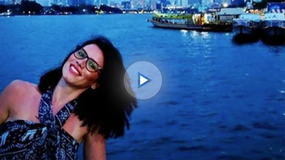 Andrea Cristeea, la joven rumana que cayó al Támesis durante el atentado de Londres
