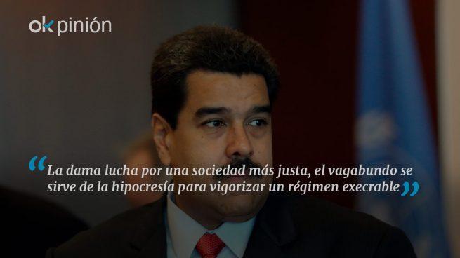 La dama Tintori y el vagabundo Maduro