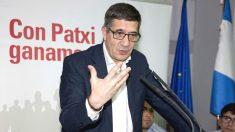 El candidato a la Secretaría General del PSOE Patxi López (Foto: Efe)