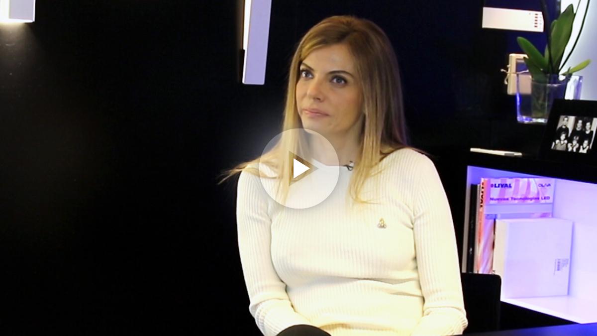 Raquel Oliva, vicepresidenta de Lámparas Oliva