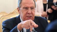 Sergei Lavrov, ministro de Exteriores de Rusia. (AFP)