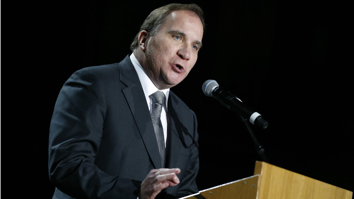 Stefan Lofven, primer ministro sueco. (Getty)