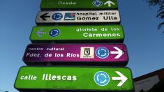 Señal con un nombre erróneo. (Foto: Jose Sevilla/Guía de Aluche)