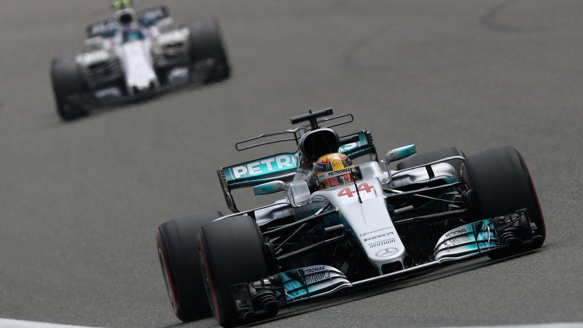 Pole para Lewis Hamilton en Shanghai, por delante de Vettel y Bottas (Getty)