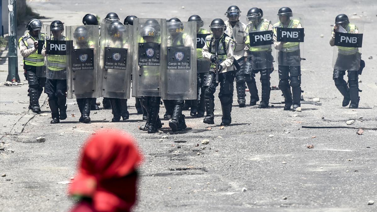 Disturbios en Venezuela. (Foto: AFP)