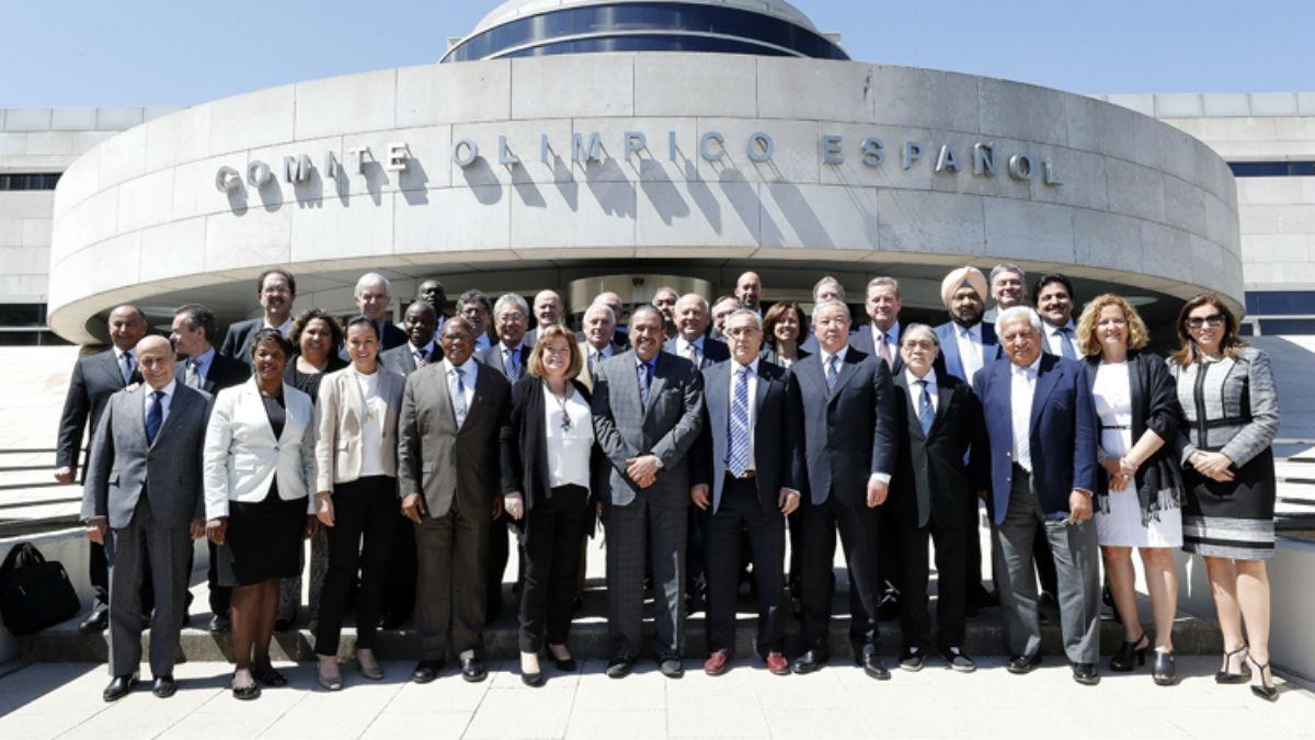 La sede del COE albergó una reunión de la ACNO.