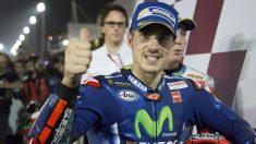 Viñales también ganó la primera carrera en Catar. (Getty)