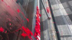 Arran ataca la sede del PPC de Sabadell