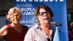 La alcaldesa y la concejal de Medio Ambiente y Movilidad Inés Sabanés. (Foto: Madrid)