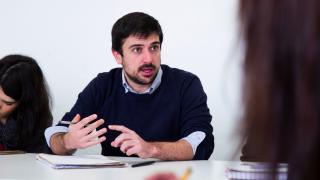 El secretario regional de Podemos Comunidad de Madrid, Ramón Espinar. (Foto: Flickr)
