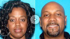 Karen Smith, la maestra muerta, y su esposo el asesino machista y posterior suicida, Cedric Anderson.