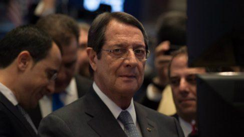 Nicos Anastasiades, presidente de Chipre. Foto: AFP