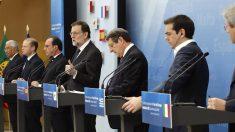 Mariano Rajoy preside la Cumbre de los países del sur de Europa en Madrid. (Foto: EFE)