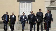 Rajoy con los líderes del sur de Europa. (Foto: EFE)