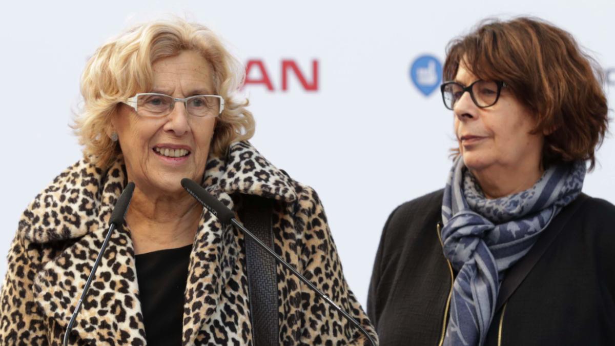 Manuela Carmena e Inés Sabanés. (Foto: Madrid)
