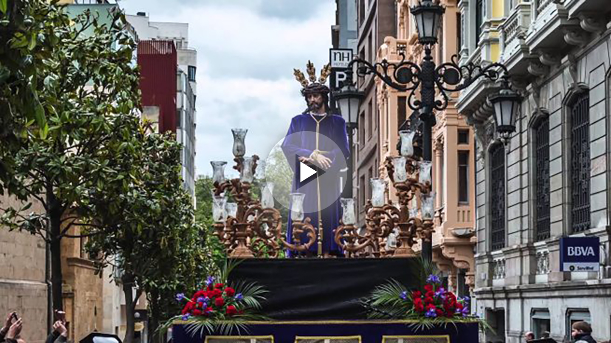 Semana Santa de Oviedo (Foto: Youtube)
