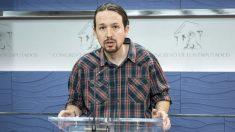 Pablo Iglesias, líder de Podemos, en una comparecencia en el Congreso (Foto: Flickr)