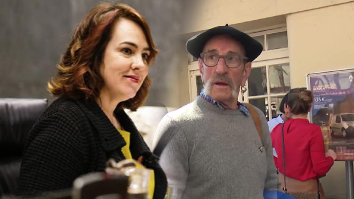Ainhoa Aznárez y 'el carnicero de Mondragón'.