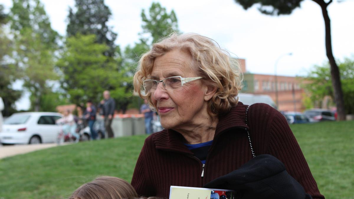 La alcaldesa Manuela Carmena. (Foto: AM)