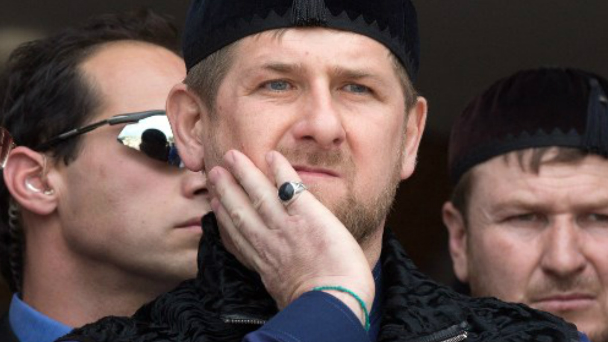 El líder de Chechenia, Ramzán Kadirov. Foto: AFP