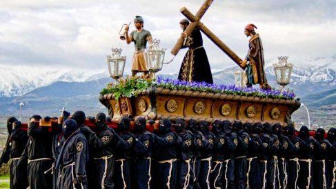 Paso de la Hermandad Jesús Nazareno en Semana Santa