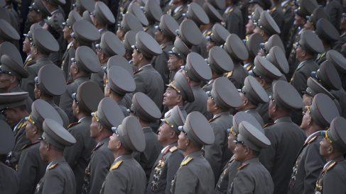 Ejército de Corea del Norte. (Foto: AFP)