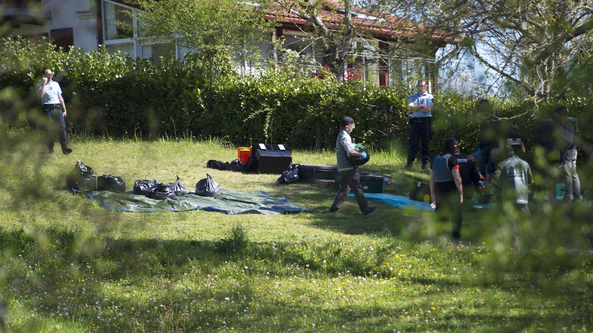 Zulo de ETA en Francia junto a una vivienda. (Foto: AFP)