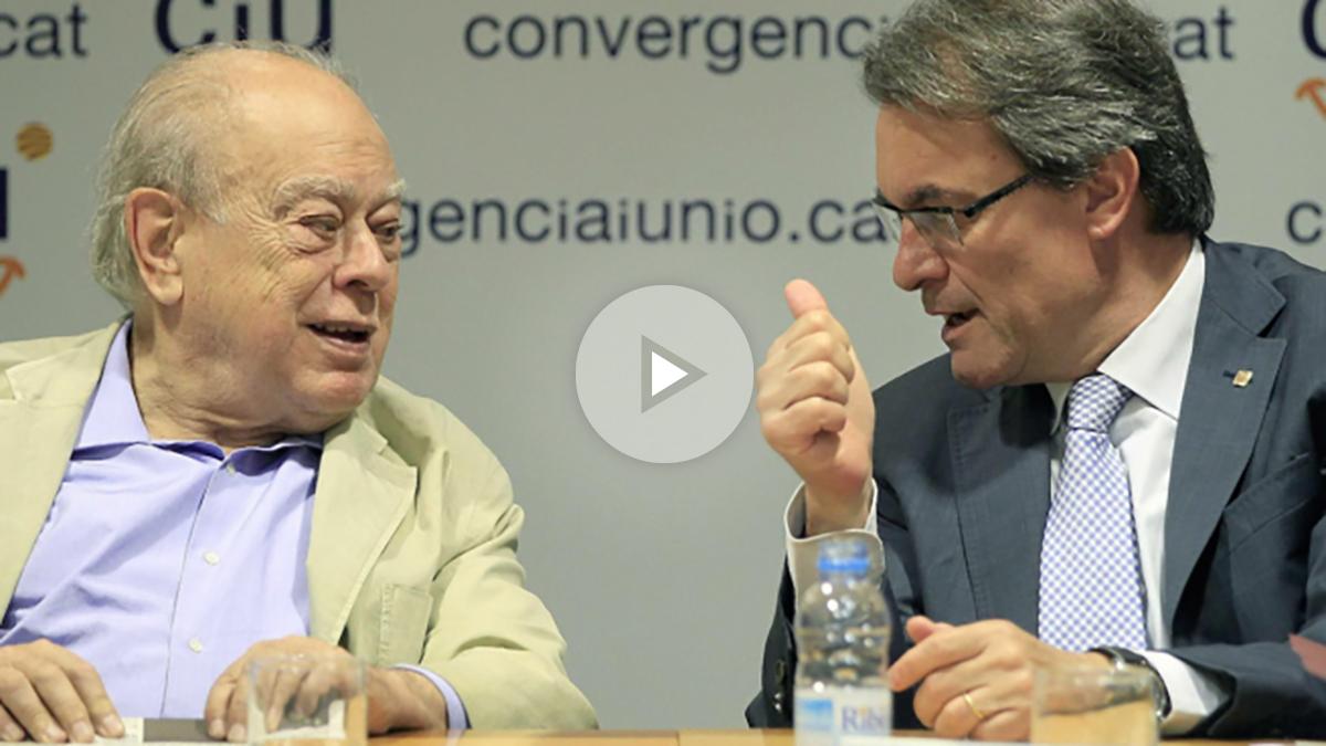 IJordi Pujol y Artur Mas. (Foto: EFE)