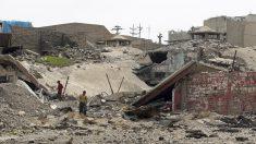 Mosul está siendo escenario de una larga batalla casa por casa para liberarla del ISIS. (AFP)
