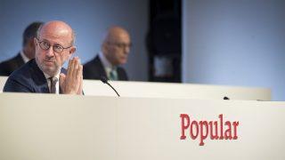 El presidente del Banco Popular, Emilio Saracho. (Foto: EFE)