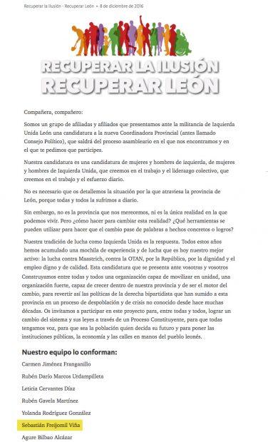 Recuperar León