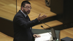 Carlos Sánchez Mato, edil económico de Carmena, en el Palacio de Cibeles. (Foto: Madrid)