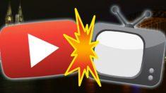 Youtube vs Televisión (Foto: cultture.com)