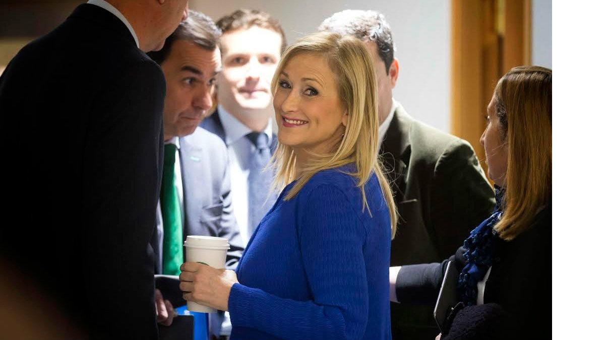 Cristina Cifuentes (Foto: Alberto Cuéllar PP Madrid).