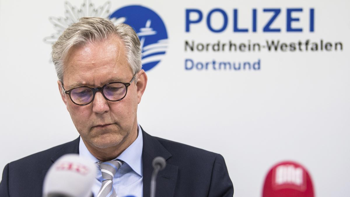 Gregor Lange, jefe de la Policía de Dortmund. (Foto: Getty)
