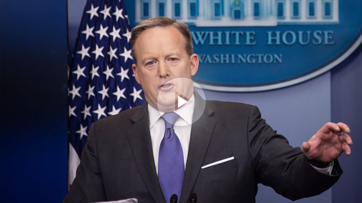 Sean Spicer. (Foto: AFP)