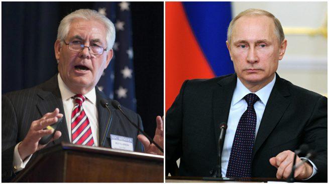 Putin recibe a Rex Tillerson en plena crisis de las relaciones entre EEUU y Rusia