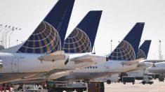 Aviones de United Airlines