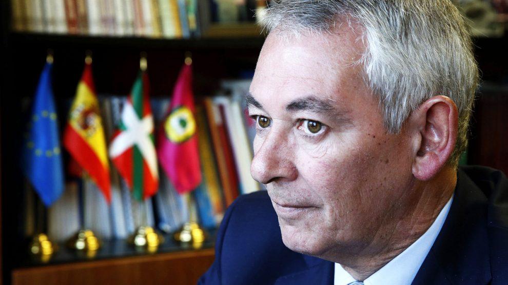 Antón Damborenea. (Foto: EFE)