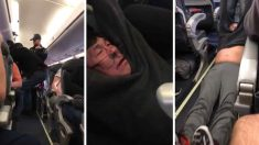 Pasajero de United Airlines sacado a la fuerza (Foto: Youtube)