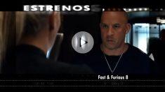 "Vin Diesel, en la octava entrega de ""Fast & Furious""."